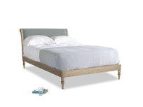 Double Darcy Bed in Armadillo Clever Softie