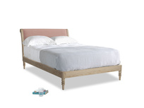 Double Darcy Bed in Tuscan Pink Clever Softie
