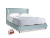 Kingsize Hugger Bed in Powder Blue Clever Softie