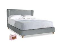 Kingsize Hugger Bed in Armadillo Clever Softie