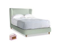 Double Hugger Bed in Soft Green Clever Softie