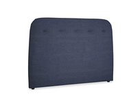 Double Napper Headboard in Seriously Blue Clever Softie