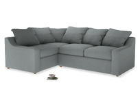 Large Left Hand Cloud Corner Sofa in Armadillo Clever Softie