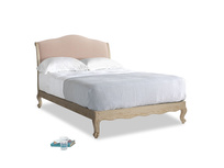 Double Coco Bed in Pink clay Clever Softie