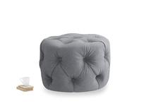 Gumdrop in Dove grey wool