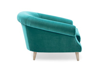 Schnaps tub armchair side detail