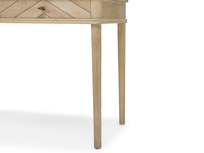 Fab Flapper parquet wood dressing table leg detail