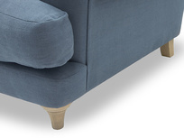 Bagsie large chesterfield sofa side detail