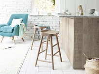Bumble wooden bar stools