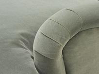 Pudding upholstereds sofa arm detail