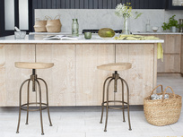 Tractor kitchen bar stools
