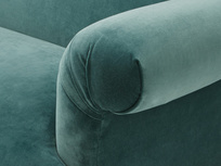 Souffle luxury upholstered sofa arm detail