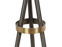 Hat Trick floor lamp tripod detail