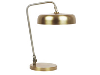 Biblio brass table lamp