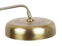 Biblio brass lamp shade detail