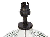 Flute small glass table lamp detail