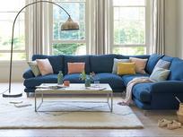 Slowcoach large l shaped corner sofa