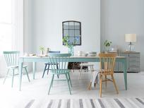 Tucker extendable wooden kitchen table