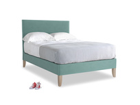 Double Piper Bed in Greeny Blue Clever Deep Velvet