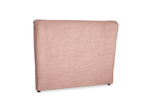 Double Hugger Headboard in Blossom Clever Laundered Linen