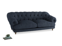 Large Bagsie Sofa in Selvedge Blue Clever Laundered Linen
