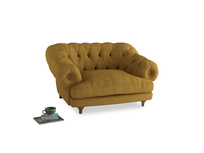 Bagsie Love Seat in Mellow Yellow Clever Laundered Linen