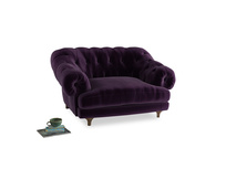 Bagsie Love Seat in Deep Purple Clever Deep Velvet