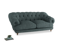 Medium Bagsie Sofa in Anchor Grey Clever Laundered Linen