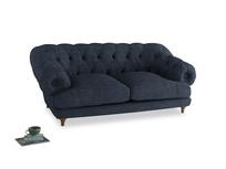 Medium Bagsie Sofa in Selvedge Blue Clever Laundered Linen