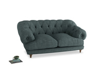 Small Bagsie Sofa in Anchor Grey Clever Laundered Linen