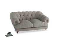 Small Bagsie Sofa in Grey Daybreak Clever Laundered Linen