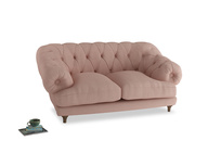 Small Bagsie Sofa in Pale Pink Clever Woolly Fabric