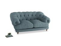 Small Bagsie Sofa in Soft Blue Clever Laundered Linen