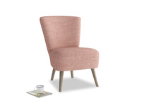 Bellini Armchair in Blossom Clever Laundered Linen