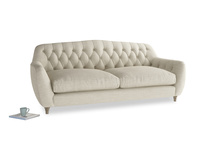 Large Butterbump Sofa in Shell Clever Laundered Linen