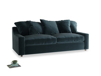 Large Cloud Sofa in Bluey Grey Clever Deep Velvet