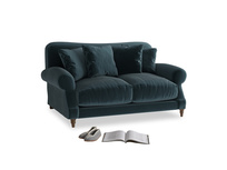 Small Crumpet Sofa in Bluey Grey Clever Deep Velvet