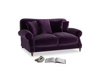 Small Crumpet Sofa in Deep Purple Clever Deep Velvet