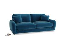 Medium Easy Squeeze Sofa in Berlin Blue Clever Deep Velvet