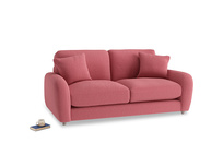 Small Easy Squeeze Sofa in Raspberry brushed cotton