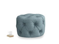 Gumdrop in Soft Blue Clever Laundered Linen