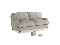 Small Jonesy Sofa in Grey Daybreak Clever Laundered Linen