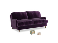 Small Jonesy Sofa in Deep Purple Clever Deep Velvet