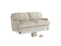 Small Jonesy Sofa in Shell Clever Laundered Linen