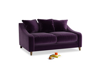 Small Oscar Sofa in Deep Purple Clever Deep Velvet