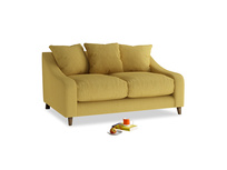 Small Oscar Sofa in Easy Yellow Clever Woolly Fabric
