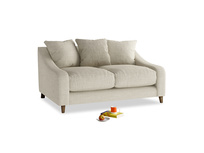 Small Oscar Sofa in Shell Clever Laundered Linen