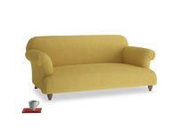 Medium Soufflé Sofa in Easy Yellow Clever Woolly Fabric