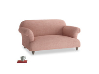 Small Soufflé Sofa in Blossom Clever Laundered Linen