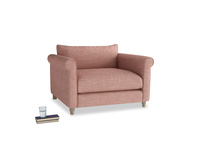 Weekender Love seat in Blossom Clever Laundered Linen
